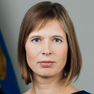 Kersti Kaljulaid haut-fonctionnaire presidente de la République Estonie