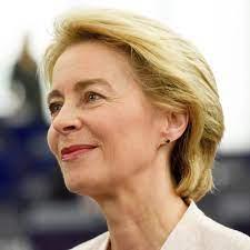 Présidente commission européenne